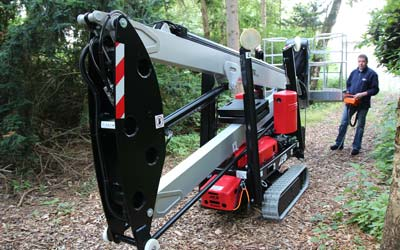 Leo 15GT Tracked Spider Lift