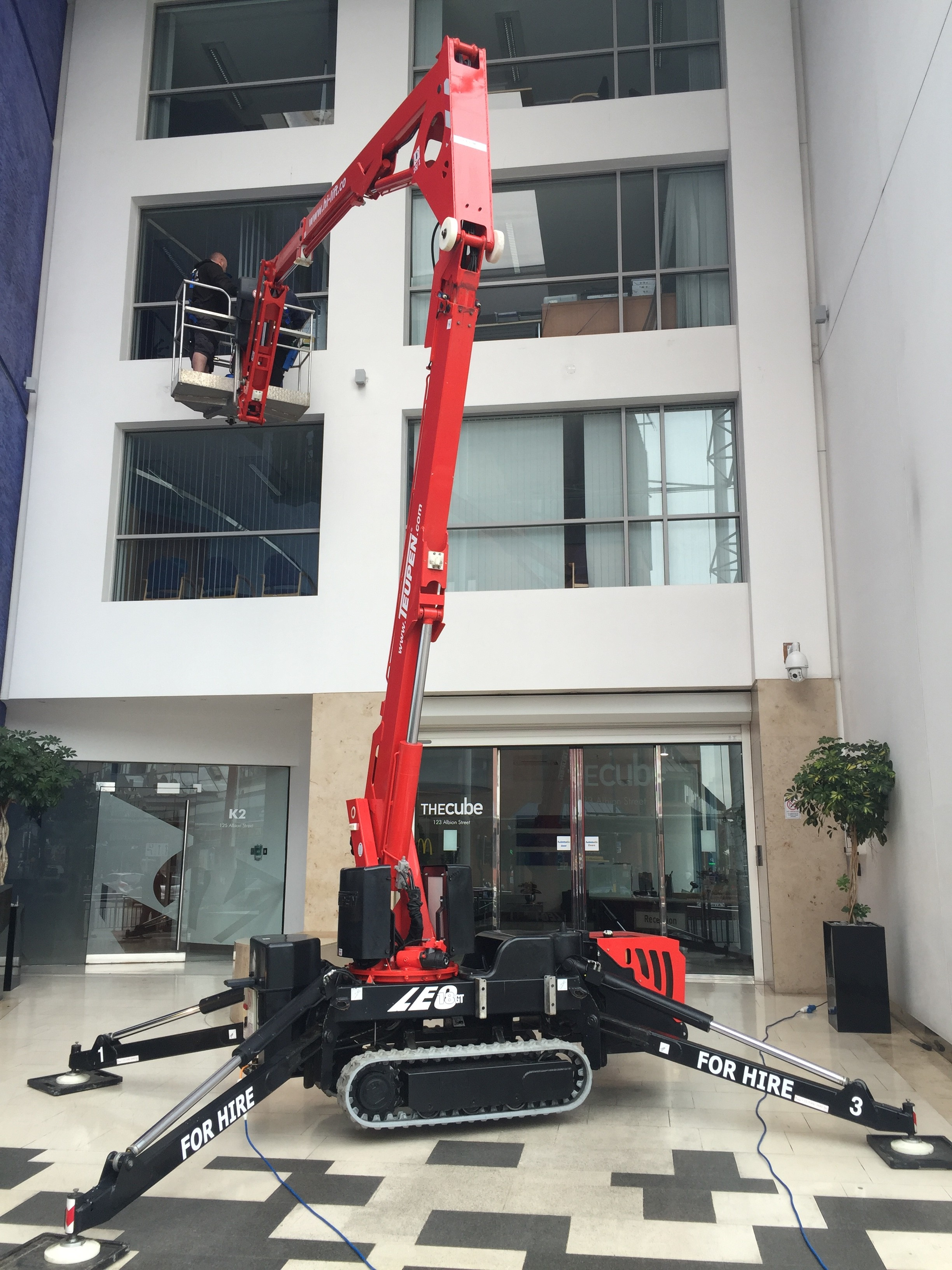 Tracked Spider Lift Hire