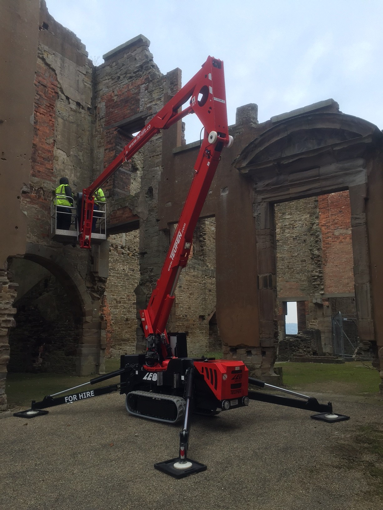 Spider Lift Hire In South Yorkshire Hi Lift
