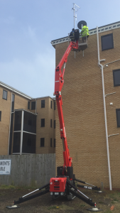 Spider Lift Hire Nottinghamshire
