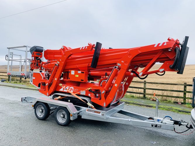 Leo 21GT and Trailer Hire